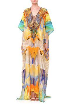 d4ebeefdc7 Buy best long Kaftans | Silk Kaftan Dresses - Shahida Parides - Shahida  Parides® Silk