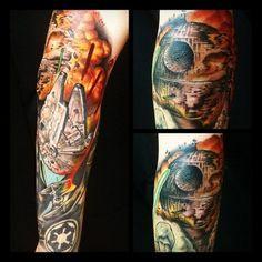 #Amazing Star Wars Tattoo!