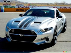 2015 Galpin-Fisker Mustang Rocket First Drive │ The 2015 Galpin-Fisker Mustang Rocket is a 725-hp beast that blurs the lines between a muscle car and a supercar. But how did this car come into existence? #GalpinFisker #Mustang