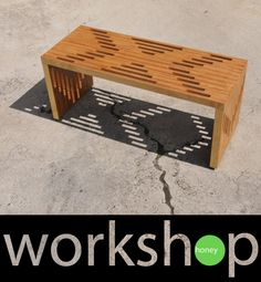 Handmade Plywood Coffee Table by WorkshopHoney on Etsy, $775.00