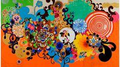 Beatriz Milhazes, Beatriz Milhazes Art, Beatriz Milhazes Pictures, Beatriz Milhazes Artwork