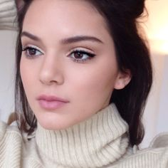 """ Mario: ""They say no one is #perfect but she just is @kendalljenner #supermodel #MAKEUPbyMARIO"" """