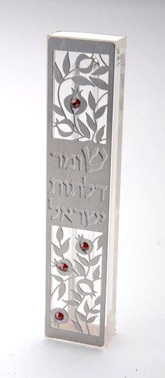 Peace Blessing Mezuzah by Dorit