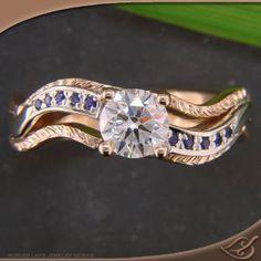 14k White #jewelryworks  #engagement