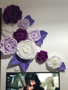 Flori din hartie creponata floristica !