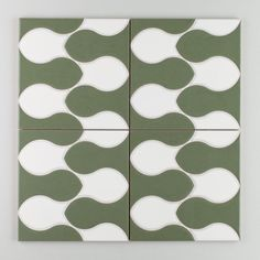 Sakura - Brook Green Motif | Inspired by the tranquil rippling pattern of a quiet creek, brook is perfect for creating soothing and calm environments. | $30/Piece | 8x8 size