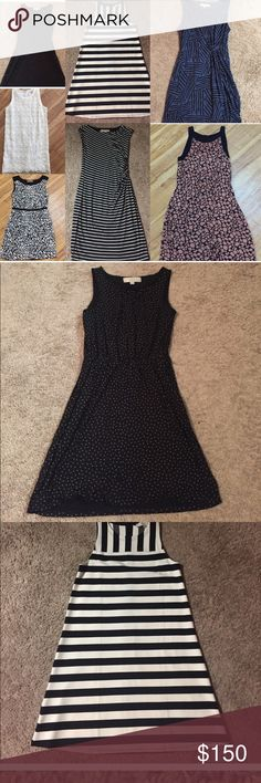 7 LOFT dresses - XS & Small 7 LOFT dresses - XS & Small   Some have never been worn and the rest are EUC. LOFT Dresses