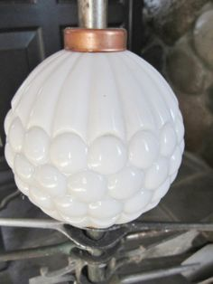 ANTIQUE LIGHTNING ROD BALL - IN GREAT CONDITION