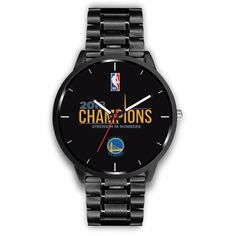 2018 NBA Champions Golden State Warriors Watches For Men Styles) Golden State Warriors Gear, Nba Warriors, Mens Watches Leather, Watches For Men, 2018 Nba Champions, Nba T Shirts, Rolex Watches, Free Shipping, Women