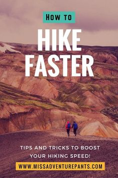 Want to hike faster? This hiking training plan will help you build speed and endurance on trail. Never get left behind by your friends again! Best Hiking Pants, Go Hiking, Hiking Tips, Hiking Gear, Hiking Food, Backpacking Tips, Ultralight Backpacking, Camping Guide, Hiking Backpack