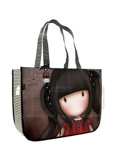 Gorjuss Large Shopping Bag - Ruby Love SW Gorjuss tubes and this shopping bag is just so Gorjuss!!! jejejeje Love it and want it!