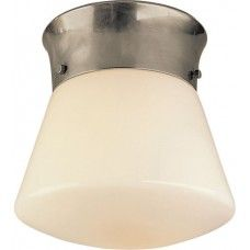 Visual Comfort Thomas O'Brien Perry Ceiling Light in Antique Nickel TOB4000AN