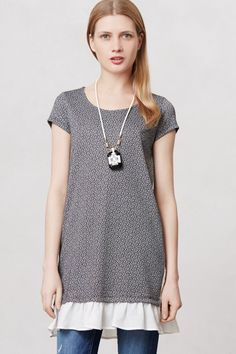 Fluttered Heather Tunic - Anthropologie.com