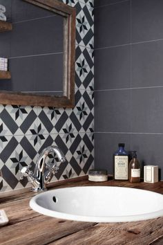 serene bathroom is completely important for your home. Whether you choose the bathroom remodel shiplap or small bathroom storage ideas, you will create the best bathroom demolition for your own life. Country Interior Design, Rustic Home Design, Small Bathroom Storage, Bathroom Styling, Serene Bathroom, Unique Tile, Small Toilet, Bathroom Floor Tiles, Shower Remodel