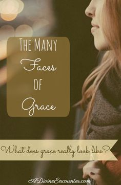 What does grace look like? Sometimes it doesn't appear the way we expect it to. Intimate post shares about the many faces of grace & blessings in disguise.