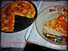 Οι λιχουδιές της Μαριφάνης: Πίτσα με ζύμη μπισκότου!!!