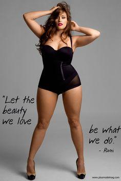 plus-sized models are gorgeous. ohbbyitsalice