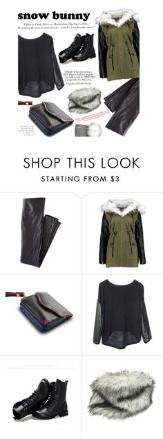 """""""Winter Fun: Snow Bunny Style"""" by zayngirl1dlove ❤ liked on Polyvore featuring Wrap, H&M, DUDU, Generation Love and Sunsteps"""
