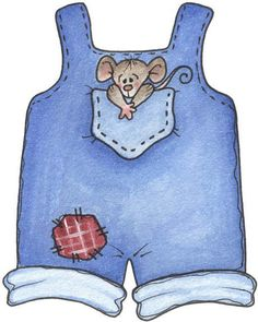 Blue Overalls For Baby Baby Pictures, Cute Pictures, Paper Dolls Clothing, Baby Shower Clipart, Blue Nose Friends, Baby Illustration, Make Your Own Card, Baby Clip Art, Doll Quilt