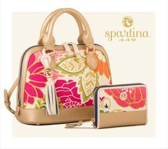 Carson Cottage Bowler Satchel & Phone Wrist Wallet by Spartina 449