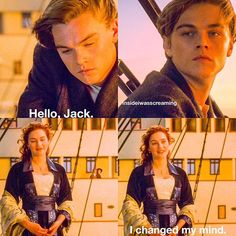 I changed my mind #titanic