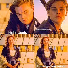 I changed my mind #titanic