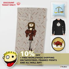 DISCOUNT TODAY ONLY 10% OFF  + FREE WORLDWIDE SHIPPING ON TAPESTRIES, FRAMED PRINTS AND ALL WALL ART! follow this SbirùLink! https://society6.com/giuseppelentini  #artwork #drawing #art #thesbirù #comic #cartoon #puppet #society6 #artprint #shopart #children #joy #child #fun #humor #happiness #childhood #smile #kid #illustration  #funny #fun #beachtowels #towels #mug #tshirt #duvet #tapestry #framed print
