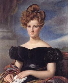 Portrait de Madame Lecoq 1827. Navez, François-Joseph