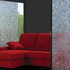 Vindusfolie GLC-1041 - frostet bakgrunn med innpreget bladmønster - en svært dekorativ folie som gir fullstendig innynsstopp. Homemaking, Disney, Home Economics, Disney Art