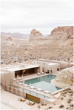 Desert Homes, Pool Designs, Beautiful Landscapes, Architecture Design, Hotel Architecture, Swimming Pools, Beautiful Places, Around The Worlds, Luxury