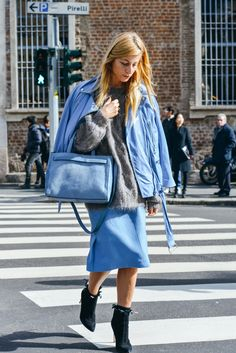 Tommy Ton Shoots the Best Street Style at the Fall '15 Shows #streetstyle #fashionweek #Fall2015 #TommyTon