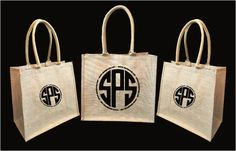 Jute Tote Bags - Naturally chic and eco-friendly. #jute #jutetotes #jutetotebags #branding #ecofriendly #burlap