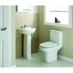 Compact 4 Piece Bathroom Suite | Bathroom City