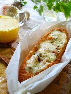 チーズたっぷり♪みんなでシェアしたい!「ボートブレッド」を作ってみよう | レシピサイト「Nadia | ナディア」プロの料理を無料で検索