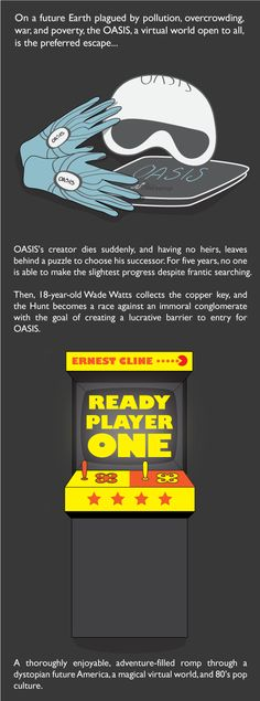 Ready Player One, by Ernest Cline promo