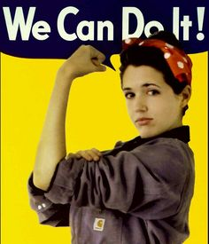 10 Empowering Halloween Costumes For Women / Crafted in Carhartt Rosie The Riveter Halloween Costume, Last Minute Halloween Costumes, Halloween Costume Contest, Halloween Diy, Halloween Queen, Diy Costumes, Costumes For Women, Costume Ideas, Hard Working Women