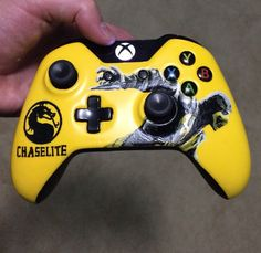 PS4 or Xbox One Made to Order Hand-Painted Custom by GameTattoos