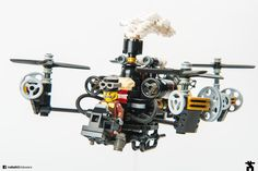 https://flic.kr/p/Nxy9eS | Austrian Air Mail | In an effort to secure service to Austria's remote valleys and woodlands, postal service relied on steam-powered quad-copters.