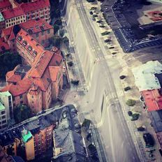 Software developer Peder Norrby has scrutinised the flaws in Apple's iOS 6 Maps app, capturing images of some of the mistakes and malfunctions in the app's search function.  The warped images are created by glitches in the algorithms that Apple uses when converting images from 2D to 3D. Describing the shapes as 'dystopic, twisted and psychedelic', Norrby explains that the software sometimes fails to understand the underlying geometry from photographs.