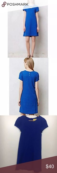 6aed0fd08a1f My Posh Picks · Maeve Anthropologie royal blue shirt dress mini XS Maeve, a  brand sold at Anthropologie,