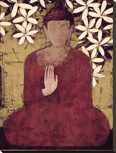 better than a thousand hollow words, is one word that brings peace. ~ the buddha Lotus Buddha, Art Buddha, Buddha Painting, Buddha Life, Namaste, Enlightenment Art, The Embrace, World Cultures, Reiki