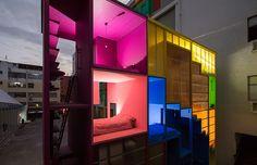 (W)ego, um hotel colorido criado pelo estúdio de arquitetura MVRDV