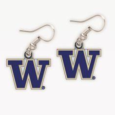 Earrings for the game -- Everyone needs a pair:) #huskies #udub #uw