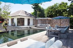 Villa Levi in Canggu. Luxury 4-bedroom Bali villa only minutes from the surf at Echo Beach. Fully staffed this is the perfect luxurious hideaway for your family  or small group of friends.
