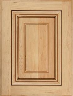 Presidential Square - Wood cabinet door