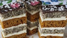 Russian Cakes, Russian Desserts, Pastry Recipes, Cake Recipes, Cooking Recipes, Hungarian Cake, Ukrainian Recipes, Traditional Cakes, Pastry Cake