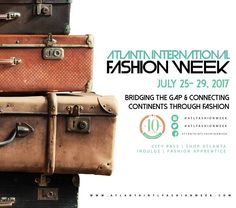 Pack your bags! Get your #Passport to #Fashion for the #Atlanta #International #FashionWeek taking place July 25-29 2017. Celebrating 10 Years! To become a part email  atlantafashionweek@gmail.com http://ift.tt/1r92mMb  #aifw #atlantainternationalfashionweek #beauty #style #chic #glam #haute #couture #design #luxury #lifestyle #prive #moda #instafashion #Instastyle #instabeauty #instaglam #fashionista #instalike #streetstyle #fashion #model