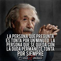 Profundo Inspirational Phrases, Motivational Phrases, Best Quotes, Love Quotes, Albert Schweitzer, Albert Einstein Quotes, Spanish Quotes, True Words, Cool Words