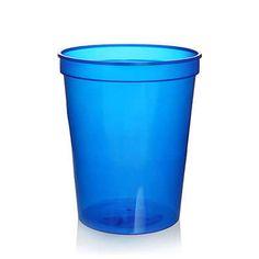 16oz. Translucent Wedding Stadium Cup Translucent Blue