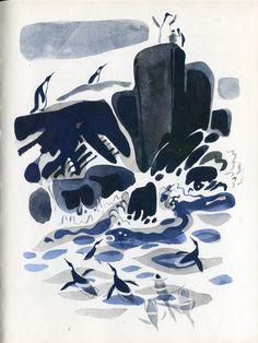 """""""Про пингвинов"""" Геннадия Снегирева и Мая Митурича: варианты иллюстраций: kid_book_museum"""